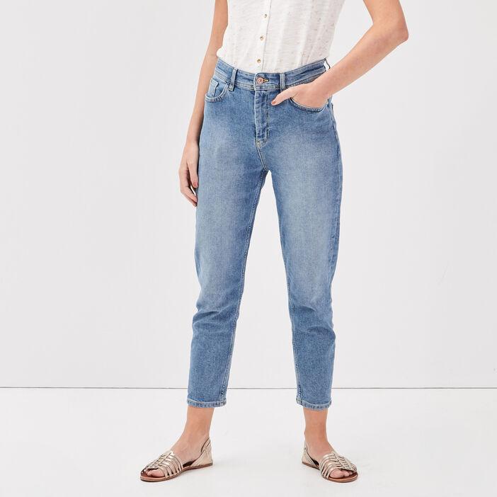 Jeans Gwen - mom denim used femme