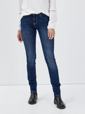 Jeans Grace  slim push up denim brut femme