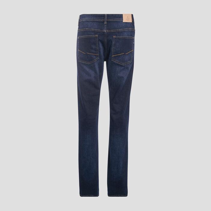 Jeans éco-responsable regular denim brut homme
