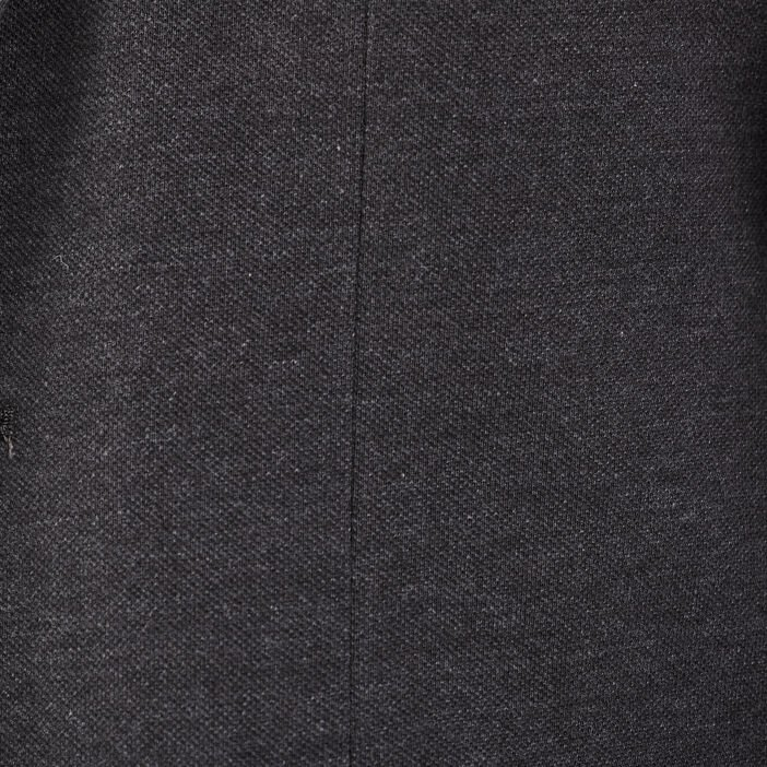 Veste blazer droite gris foncé homme