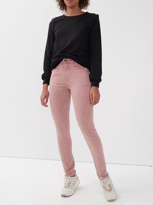 Pantalon eco responsable rose clair femme