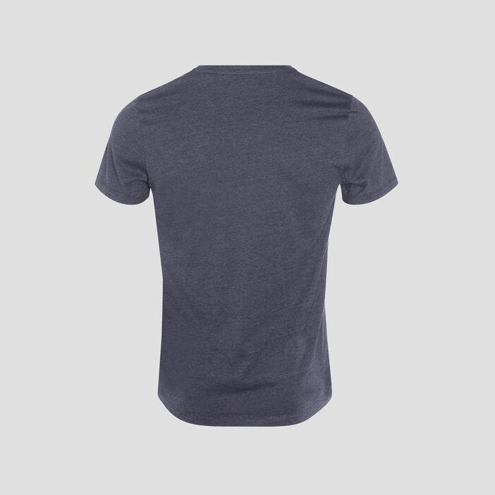 T-shirt manches courtes bleu foncé homme
