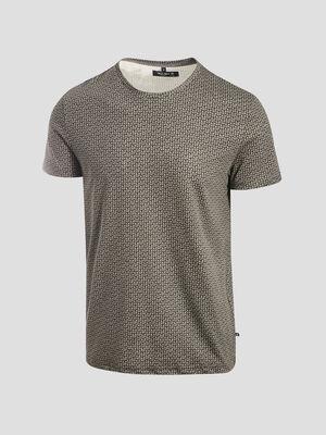 T shirt eco responsable gris fonce homme