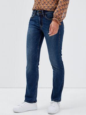 Jeans regular 78eme denim stone femme