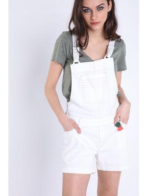 T shirt manches courtes Instinct vert kaki femme