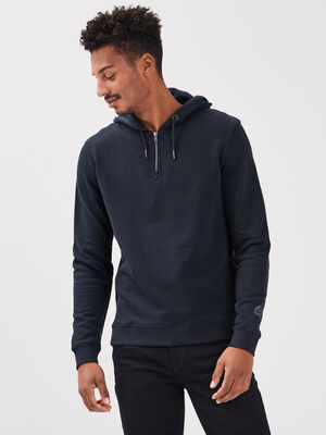 Sweat eco responsable bleu marine homme