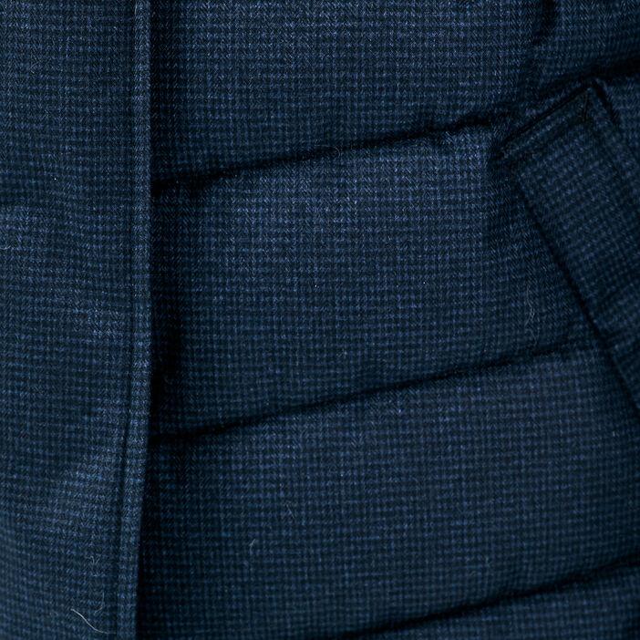 Doudoune cintrée bleu marine femme