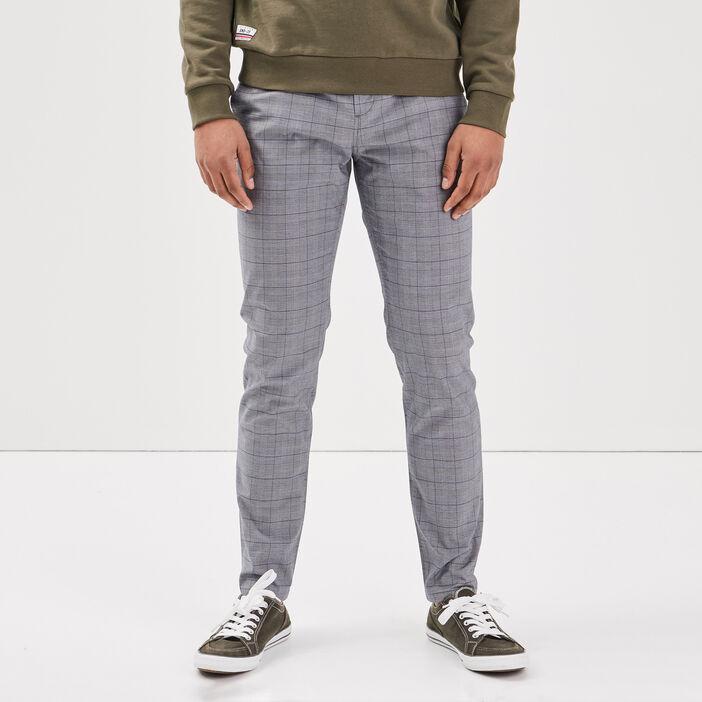Pantalon chino bleu foncé homme