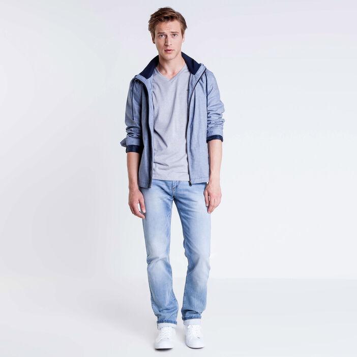 T-shirt manches courtes gris foncé homme