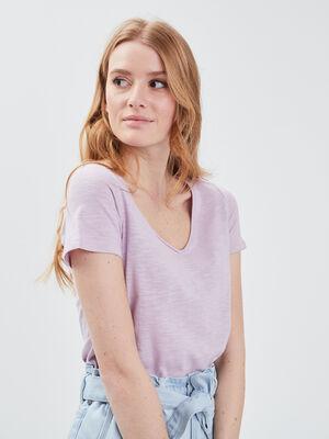 T shirt manches courtes parme femme