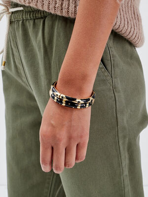 Lot 2 bracelets noir femme