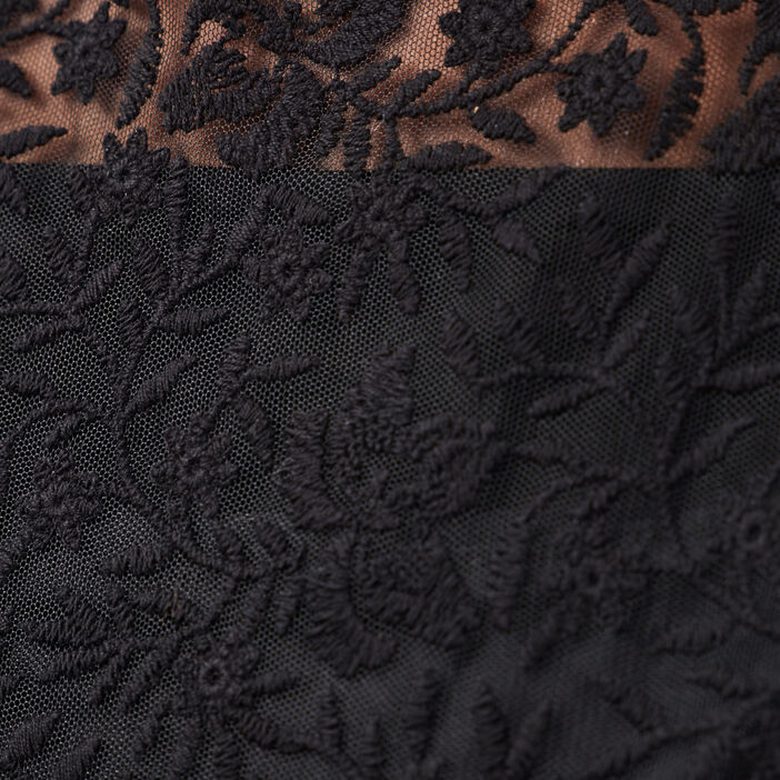 Combinaison pantalon droite noir femme