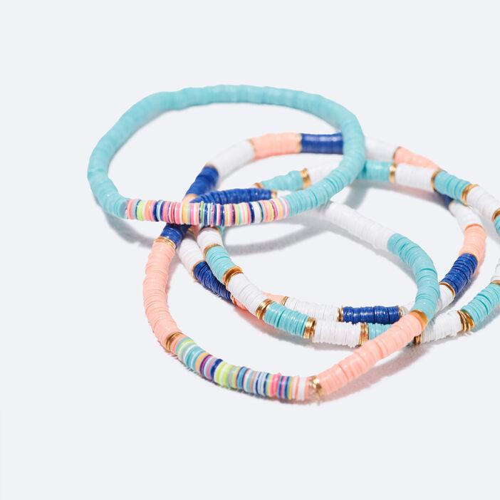 Lot 4 bracelets couleur or femme