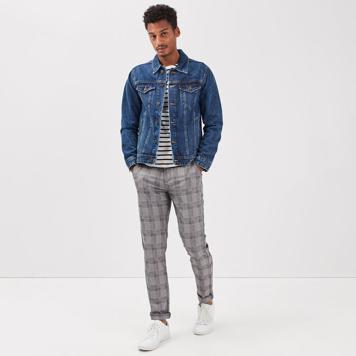 Pantalon chino ecru homme