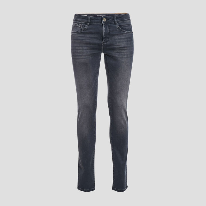 Jeans slim ultra stretch denim gris homme