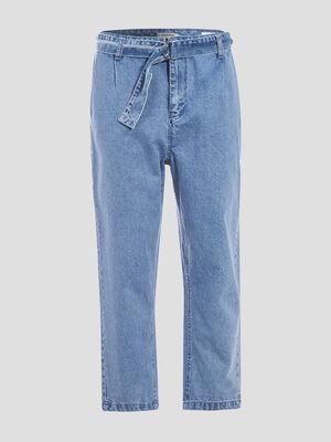 Jeans large ceinture 78eme denim used femme