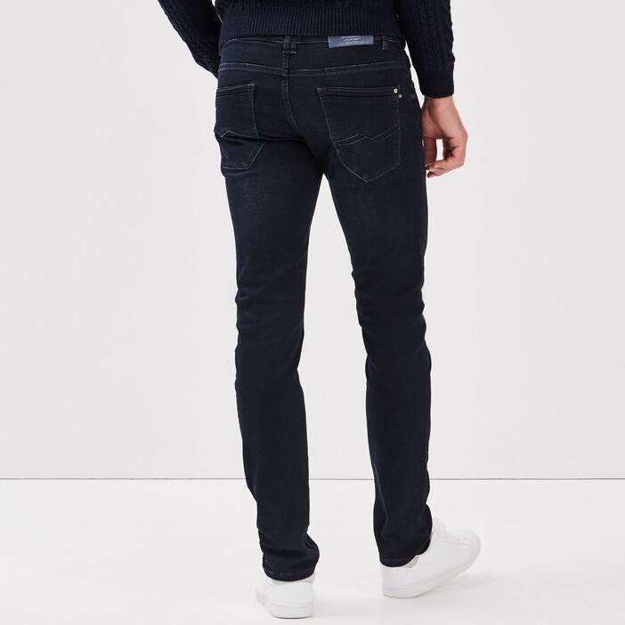 Hyper Stretch jeans slim denim blue black homme