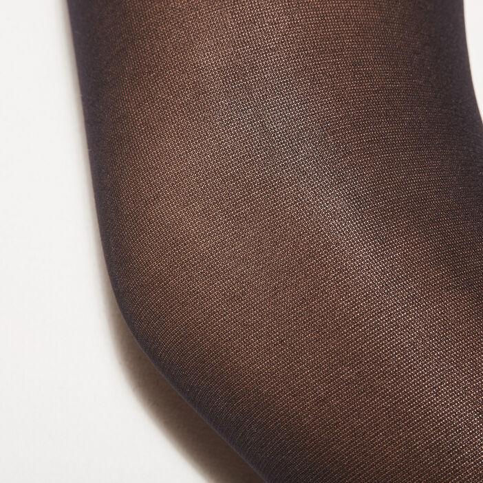 Lot 2 paires collants noir femme
