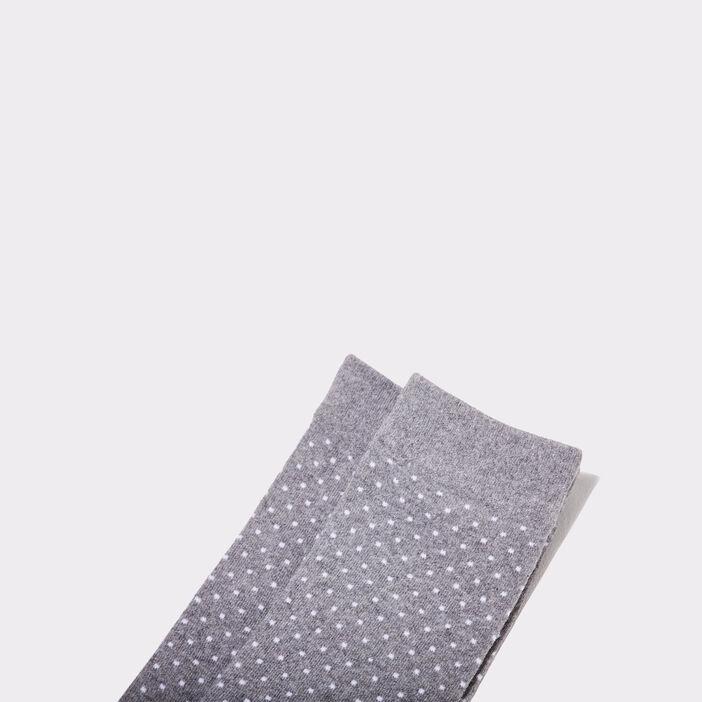 Chaussettes gris foncé homme