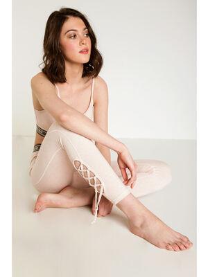 Legging lacage Instinct rose clair femme