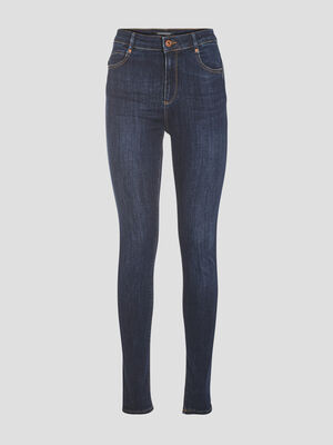 Jeans skinny eco responsable denim brut femme