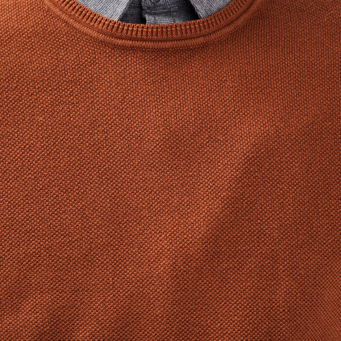 Pull éco-responsable camel homme