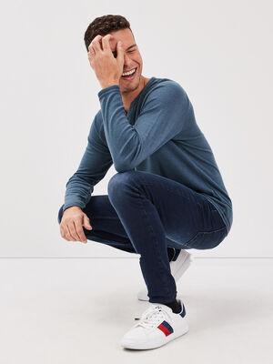 Jeans skinny used L34 denim brut homme