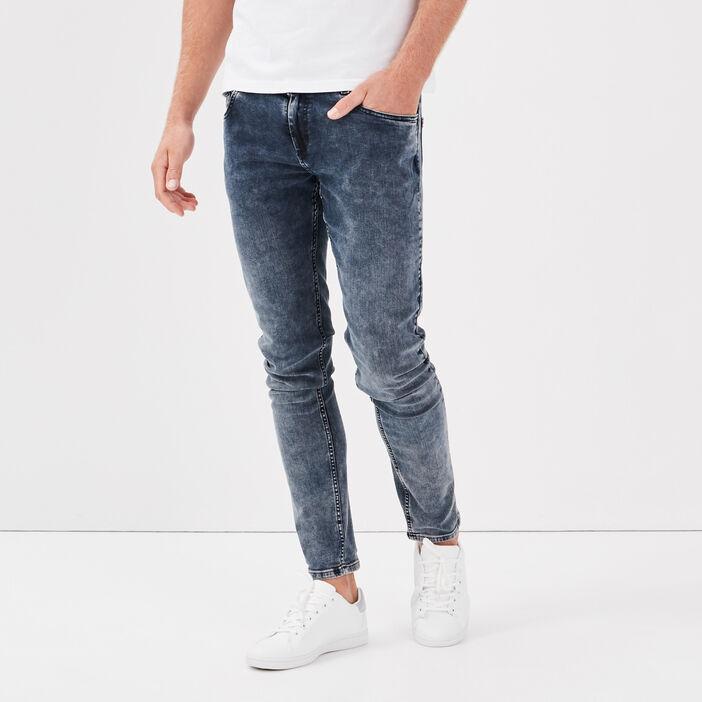 Jeans skinny éco-responsable denim dirty homme