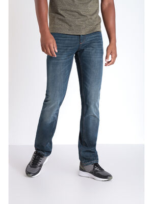 Jeans regular poches fantaisie denim dirty homme