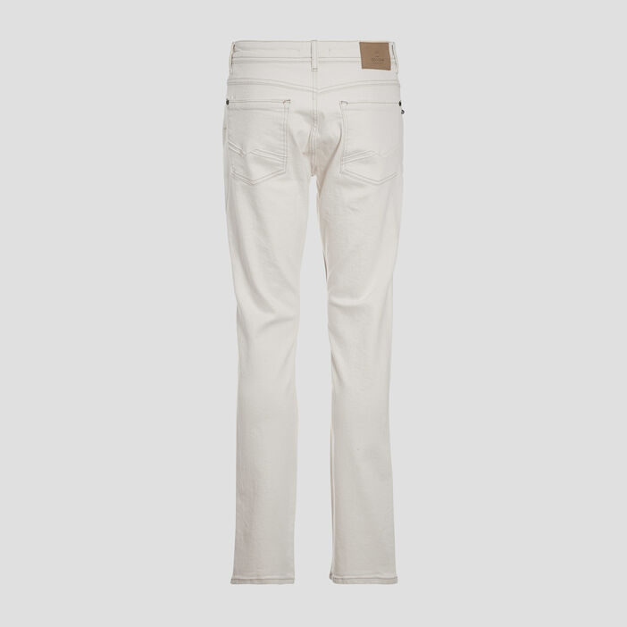 Jeans straight ecru homme
