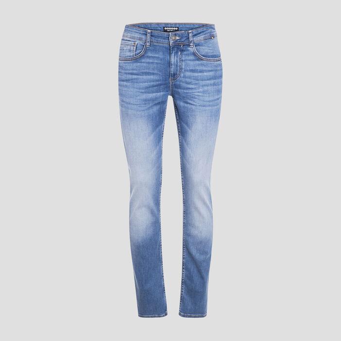 Jeans slim éco-responsable denim used homme