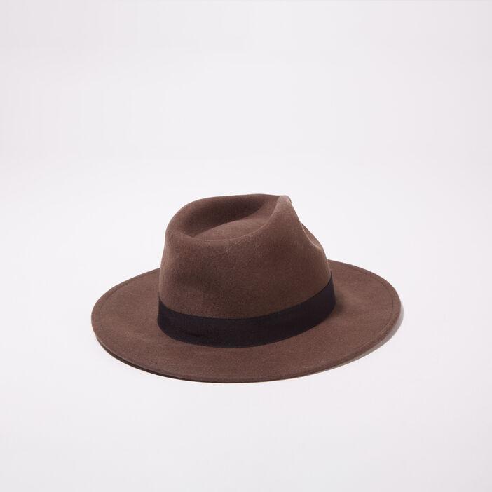 Chapeau vert kaki femme