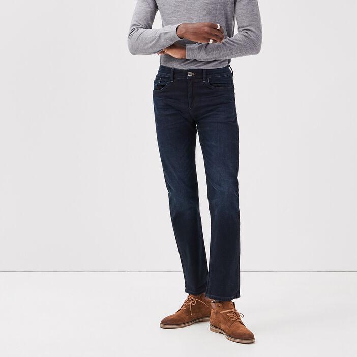 Jeans regular L32 Instinct denim brut homme