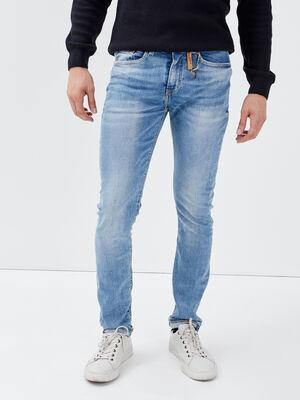 Jeans slim eco responsable denim stone homme
