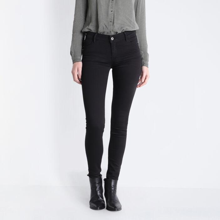 Jeans Marylin - skinny push up denim noir femme