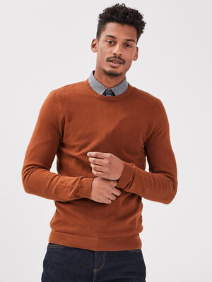 Pull eco responsable camel homme