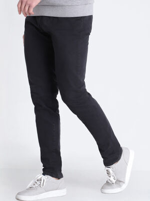 Pantalon Instinct chino slim noir homme