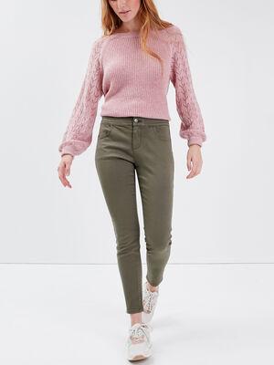 Pantalon skinny 78eme vert fonce femme