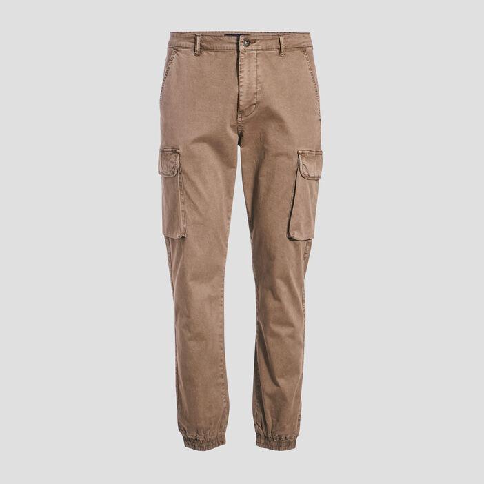 Pantalon battle beige homme