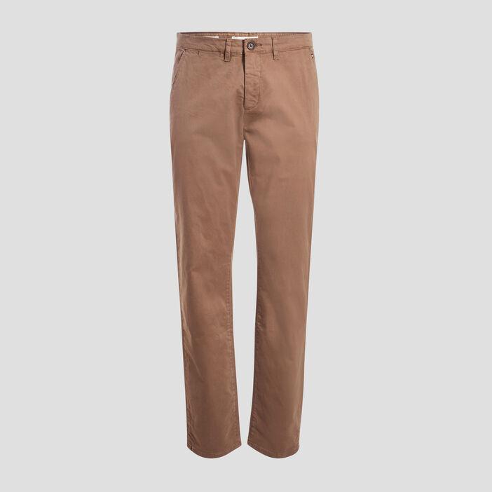 Pantalon straigth Instinct chino beige homme