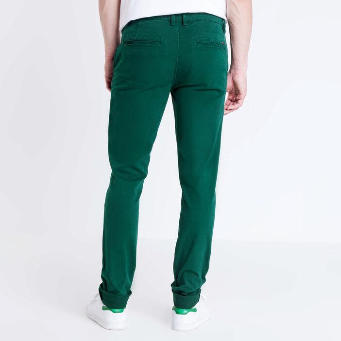 meilleur service cf514 469de Pantalon slim Instinct vert foncé homme