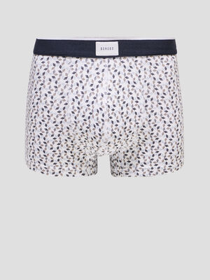 Lot 2 boxers blanc homme