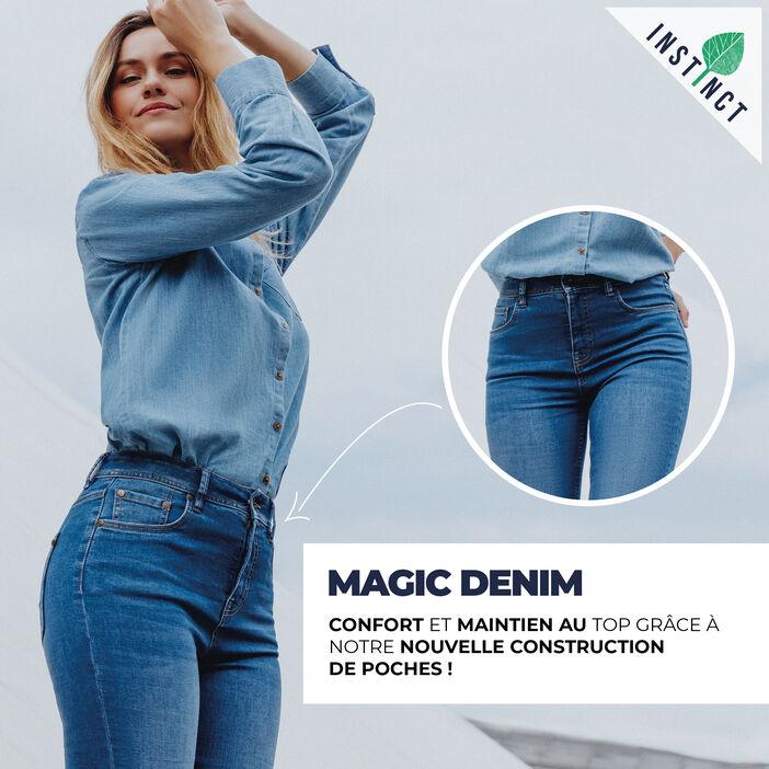Magic Denim ! denim brut femme