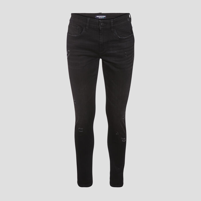Jeans skinny denim noir homme