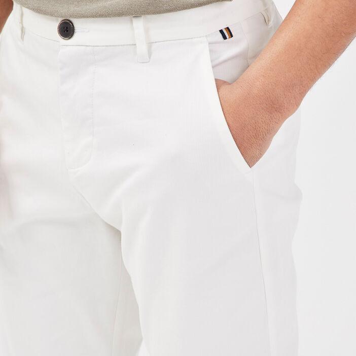 Pantalon slim Instinct chino ecru homme