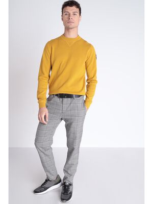 Pantalon chino blanc homme