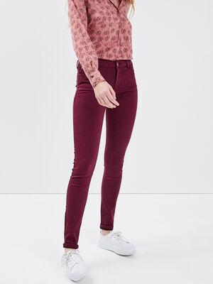 Pantalon Audrey  skinny push up prune femme