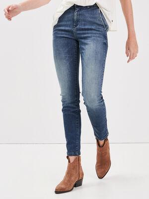 Jeans skinny denim dirty femme