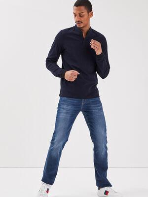 Jeans eco responsable regular denim stone homme
