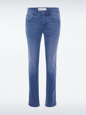 Jeans regular used L34 Instinct denim bleach homme